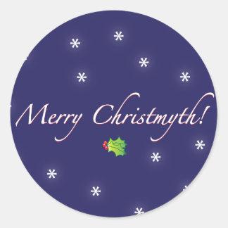 Merry Christmyth Sticker