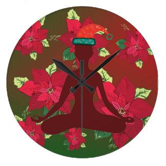 Merry Chrsitams Wall Clock
