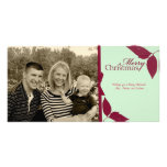 Merry Chrsitmas Ribbon Photo Cards