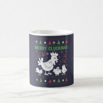 Merry Cluckmas Coffee Mug