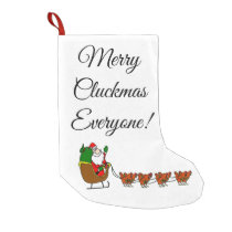 Merry Cluckmas Everyone! Christmas Stocking