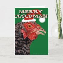 Merry Cluckmas! Holiday Card