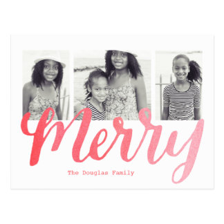 Merry Collection Postcard
