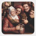 Merry Company, 1562 Calcomanías Cuadradases