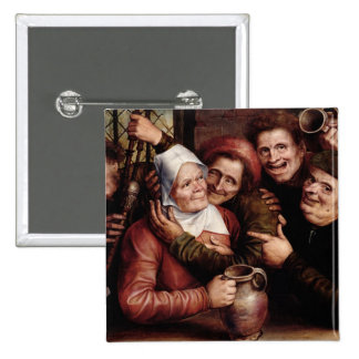 Merry Company, 1562 Pinback Button