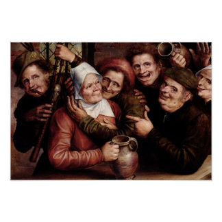 Merry Company, 1562 Poster