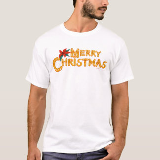 MERRY COOKIE CHRISTMAS CARTOON Men's Basic T-Shirt