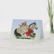 Merry Corgi Christmas! Holiday Card