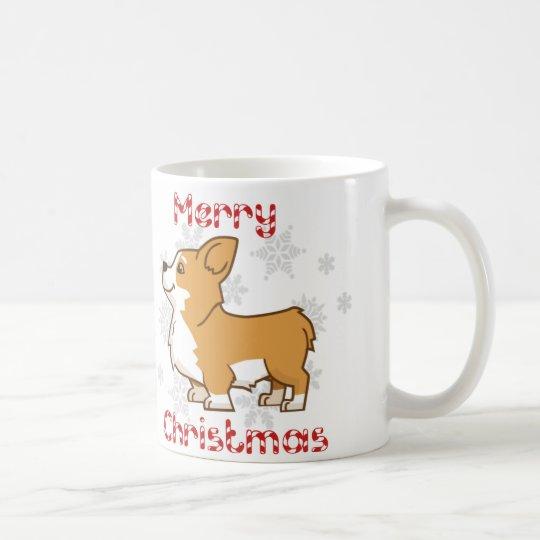 merry corgi christmas mug - Corgi Christmas