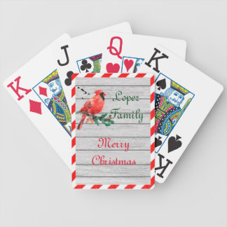 Merry Country Cardinal Deck Bicycle Playing Cards