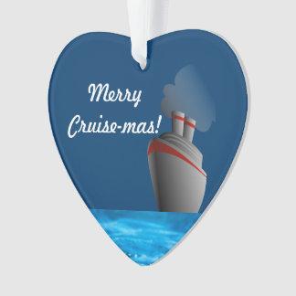 Merry Cruise-mas Ornament