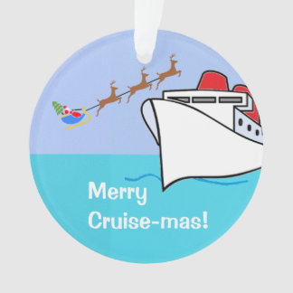 Merry Cruise-mas Ship and Santa