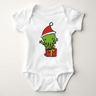 Merry Cthulmas Baby Bodysuit
