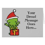 Merry Cthulmas Greeting Card
