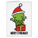Merry Cthulmas Greeting Cards
