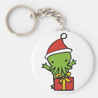 Merry Cthulmas Keychain