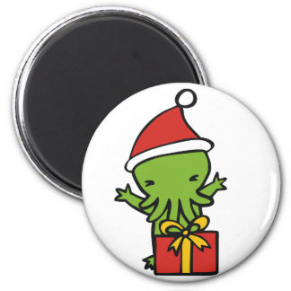 Merry Cthulmas Magnet