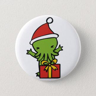 Merry Cthulmas Pinback Button