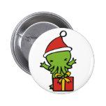 Merry Cthulmas Pinback Buttons