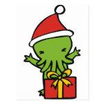 Merry Cthulmas Post Card