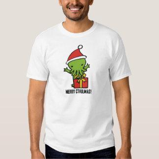 Merry Cthulmas Tee Shirt