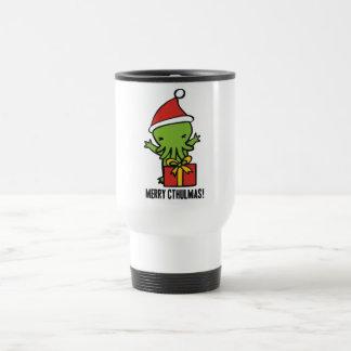 Merry Cthulmas Travel Mug