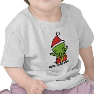 Merry Cthulmas T-shirts