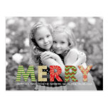 Merry Cutouts Holiday Photo Card