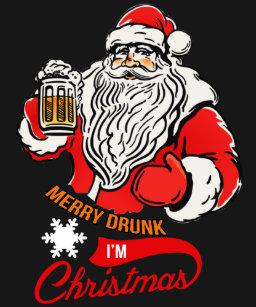 merry drunk im christmas t shirt - Merry Drunk Im Christmas