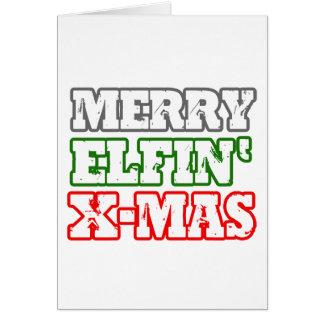 MERRY ELFIN XMAS -.png Cards