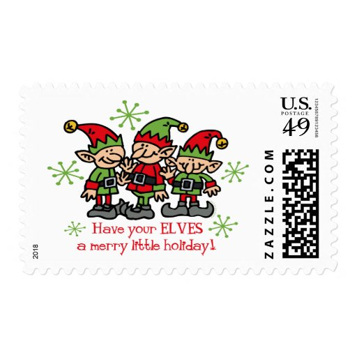 Merry Elves Stamps