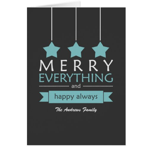 Merry Everything Cards