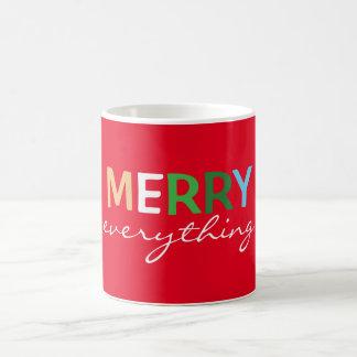 """Merry Everything"" Christmas Coffee Mug"