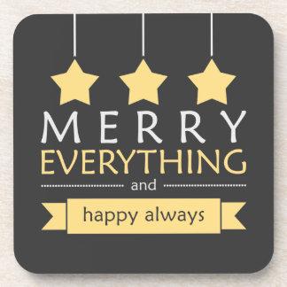 Merry Everything Coaster