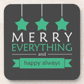 Merry Everything Drink Coaster