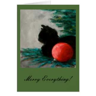 Merry Everything ! New Holiday Greeting card!