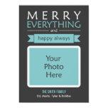 Merry Everything Photo Card Custom Invite