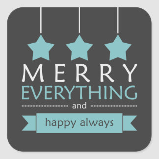 Merry Everything Stickers