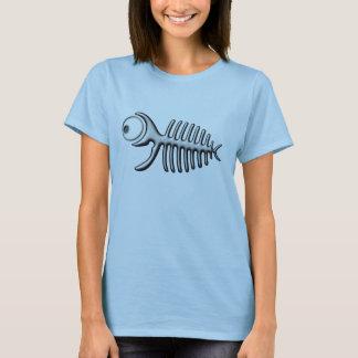 Merry fish fishbone - women T-Shirt