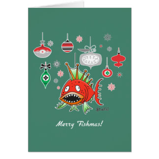 Merry Fishmas by Bad Tuna Card
