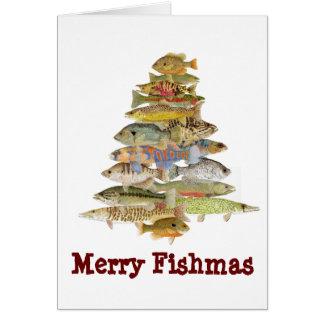 Merry Fishmas Card