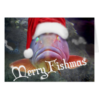 Merry Fishmas Card