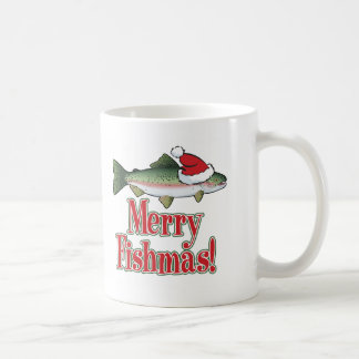 Merry Fishmas Coffee Mug