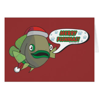 Merry Fishmas! from Oliver Greeting Card