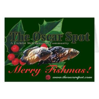 Merry Fishmas! Greeting Card