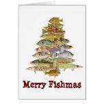 Merry Fishmas Greeting Cards