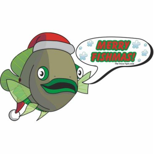 Merry Fishmas! (Oliver) photosculpture