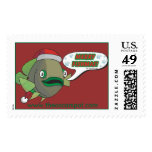 Merry Fishmas! (Oliver) Stamp