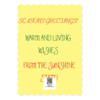 MERRY FLORIDA CHRISTMAS CARD