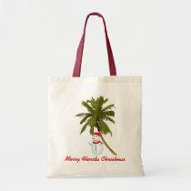 Merry Florida Christmas Tote Bag